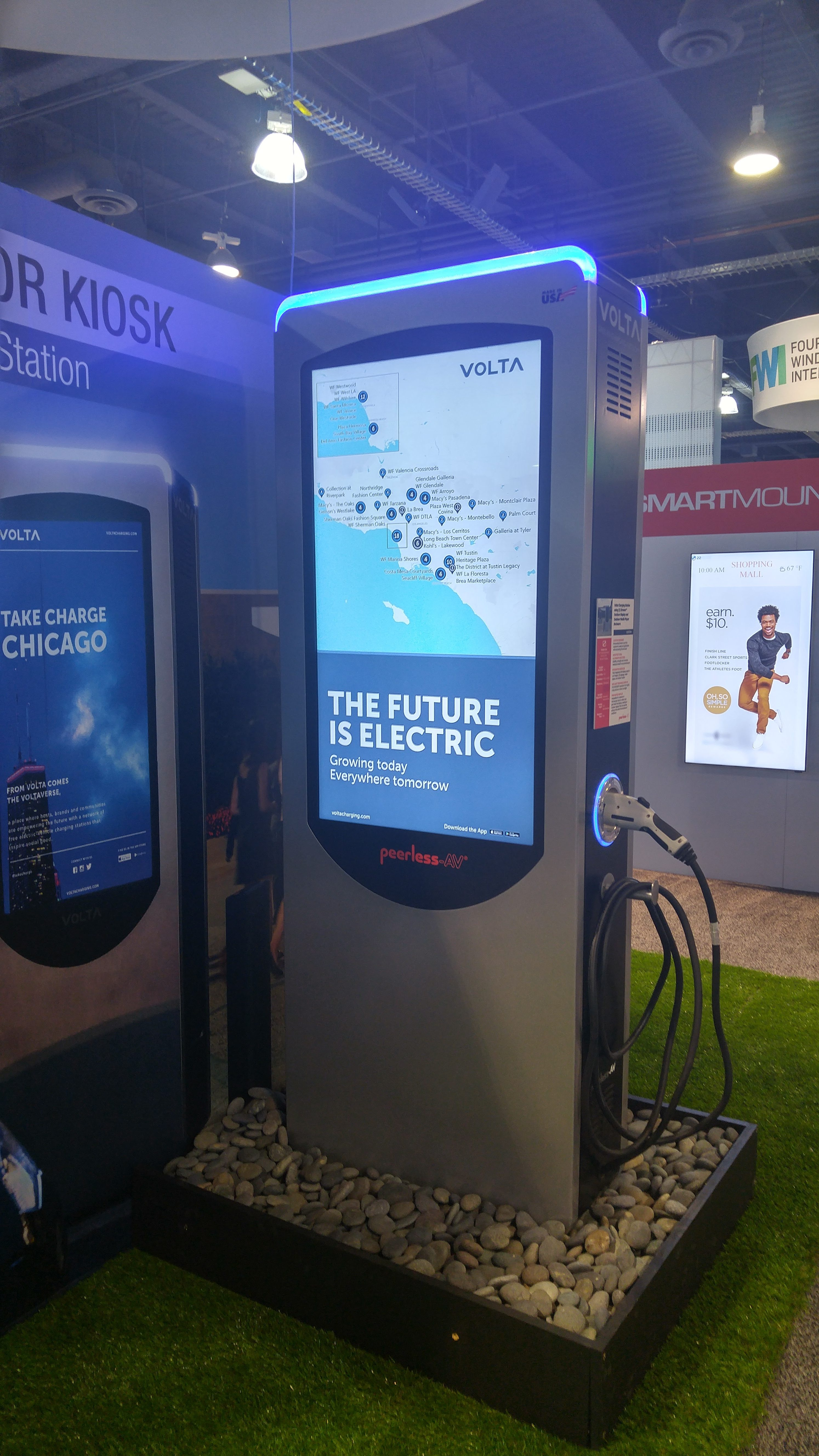 Electric Vehicle Charging Station Signage
